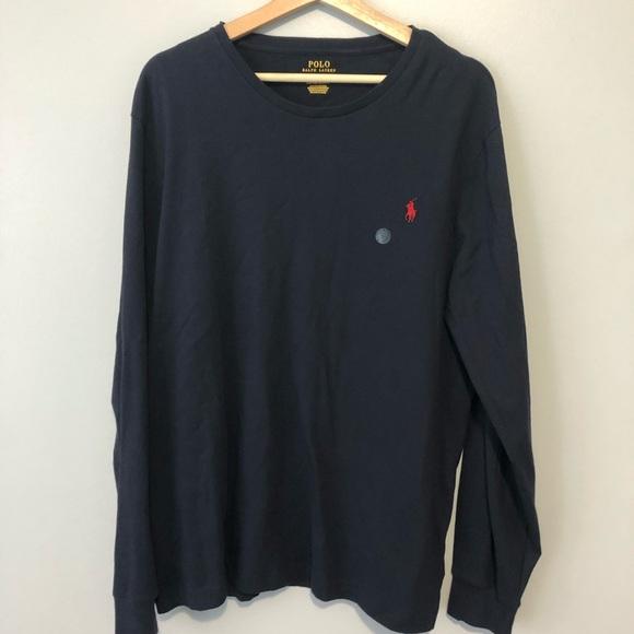 0692c6c71856 Polo by Ralph Lauren Shirts | Polo Ralph Lauren Navy Custom Slim Fit ...